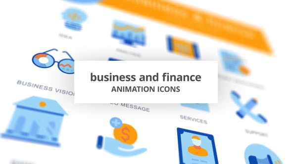 Thumbnail for Business & Finance - Icones d'animation