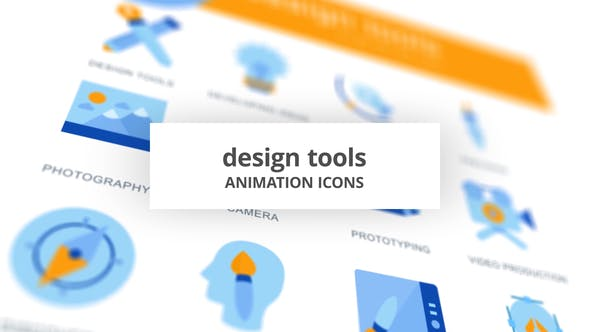 Design Tools - Animation Icons