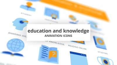 Education & Knowledge - Animation Icons