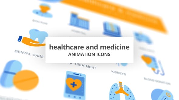 Thumbnail for Healthcare & Medicine - Animation Icons