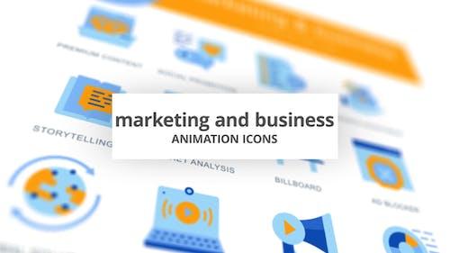 Marketing & Business - AnimationsIcons