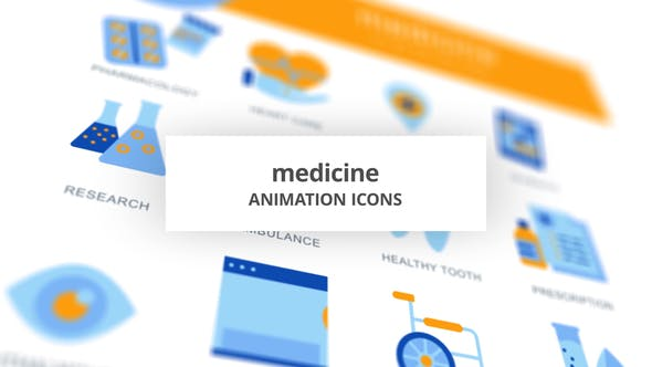 Medicine - Animation Icons - product preview 0