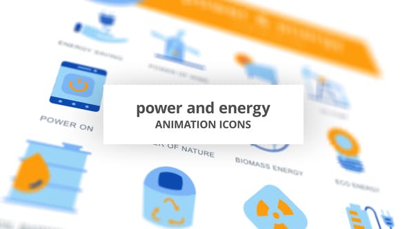Thumbnail for Power & Energy - Animation Icons