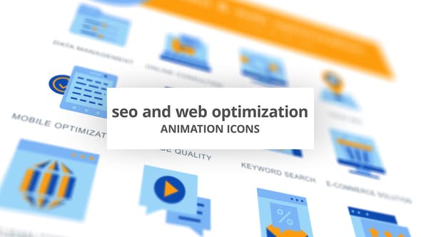 Thumbnail for SEO & Web Optimization - Animation Icons