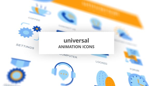 Universal - Animation Icons - product preview 0