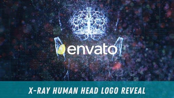 Thumbnail for X-Ray Human Head Logo Reveal