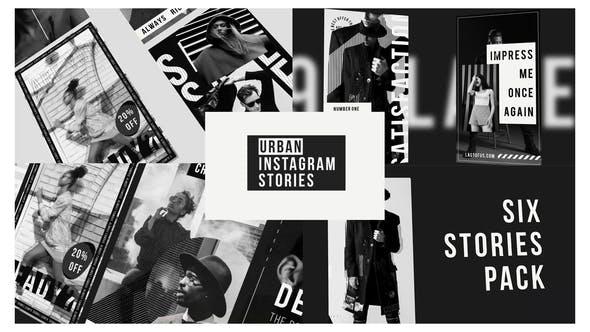 Urban Stories Instagram Black