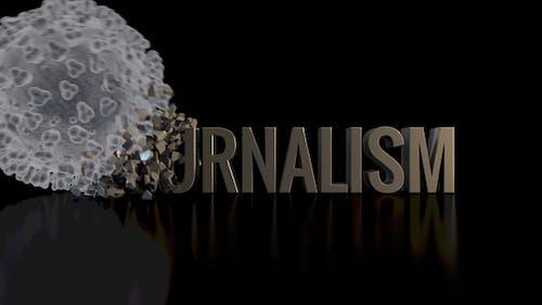 Corona / Covid-19 Crushing Journalism