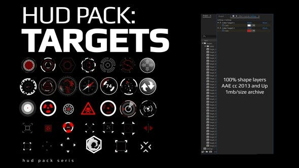 Thumbnail for Hud Pack - Targets