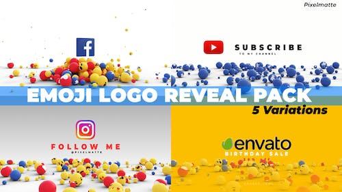 Emoji Logo Reveal Pack