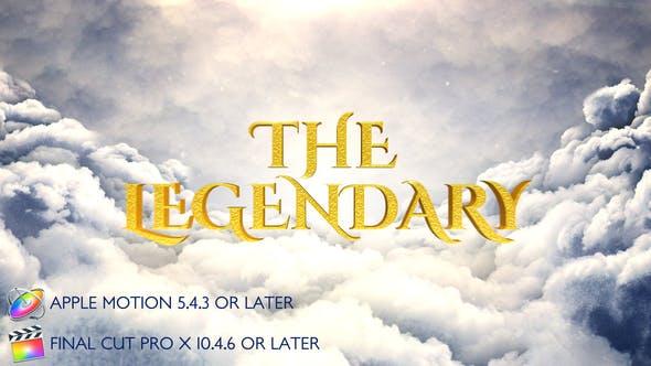 Thumbnail for Legendary Cinematic Opener - Apple Motion