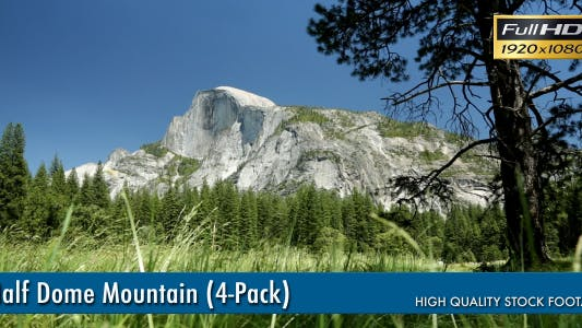 Thumbnail for Half Dome Mountain (4-Pack)