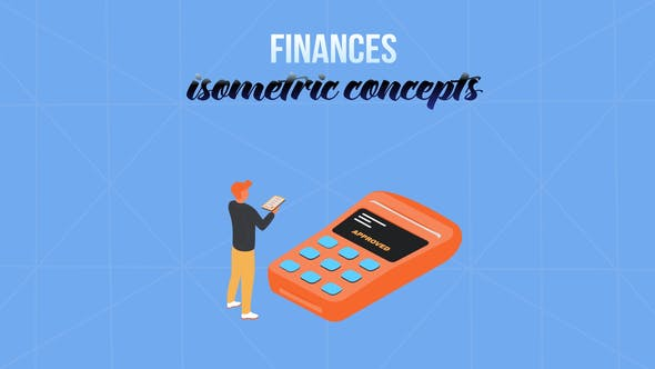 Thumbnail for Finances - Isometric Concept