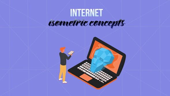 Thumbnail for Internet - Isometric Concept