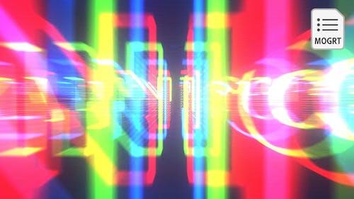 Distort Glitch Title Reveal