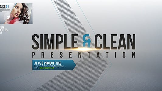 Thumbnail for Simple & Clean Presentation