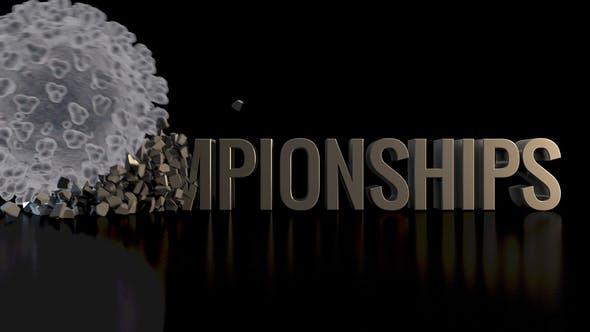 Corona / Covid-19 Crushing Championships