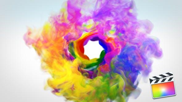 Thumbnail for Revela de Logo de humo colorido - FCP