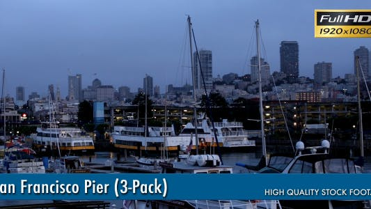 Thumbnail for San Francisco Pier (3-Pack)