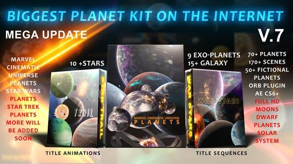 Thumbnail for Le plus grand kit de système solaire sur Internet V.7