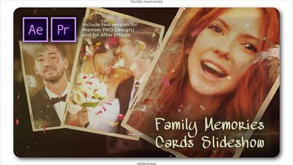 Thumbnail for Family Memories Cards Slideshow