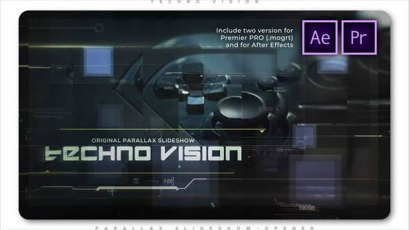 Thumbnail for Techno Vision Parallax Slideshow