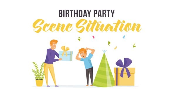 Thumbnail for Birthday party - Scene Situation