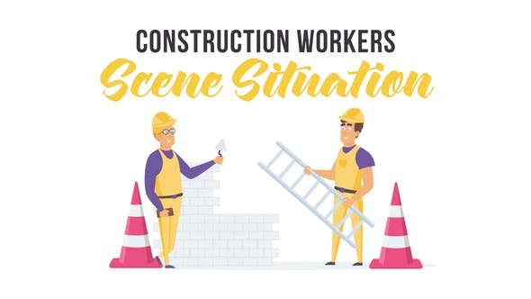 Thumbnail for Construction workers - Scene Situation