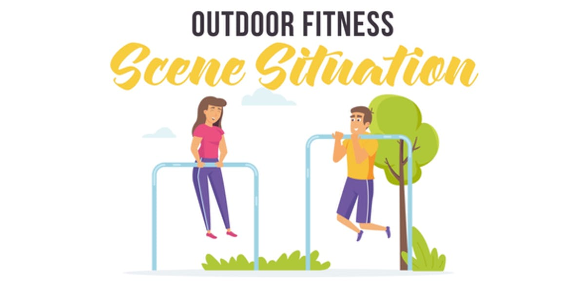 Outdoor fitness - Scene Situation