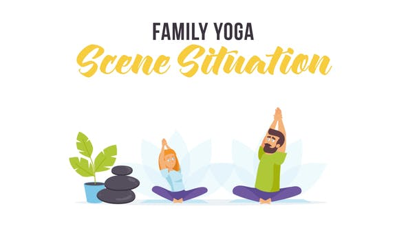 Thumbnail for Family yoga - Scene Situation