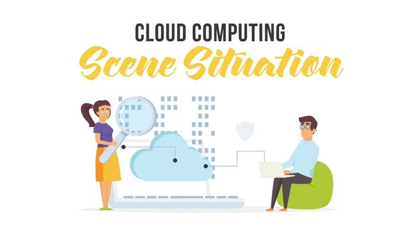Thumbnail for Cloud computing - Scene Situation