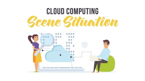 Thumbnail for Cloud computing - Situación de escena