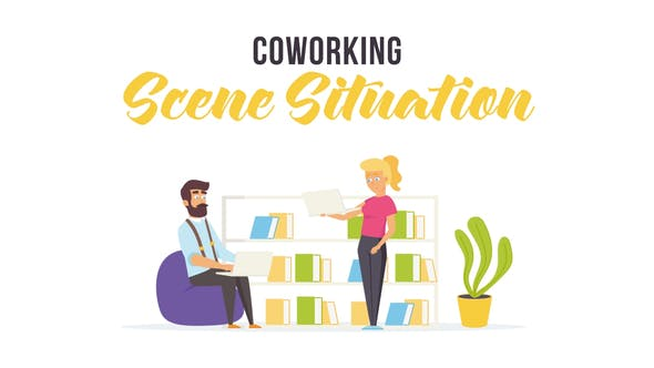 Thumbnail for Coworking - Scene Situation
