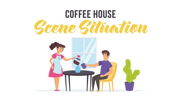 Thumbnail for Coffee house - Scene Situation