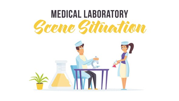 Medical laboratory - Scene Situation