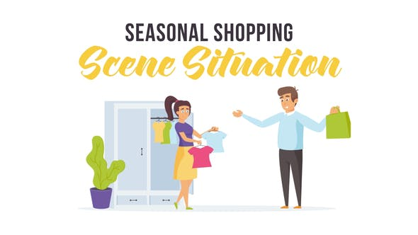 Thumbnail for Seasonal shopping - Scene Situation
