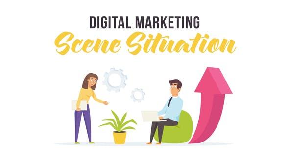 Thumbnail for Digital marketing - Scene Situation