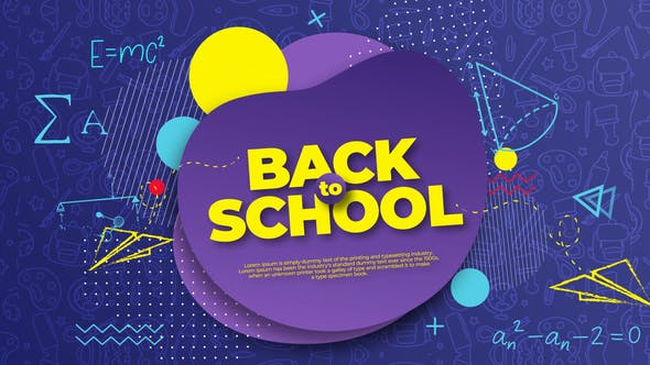 Thumbnail for Back to School Intro Opener