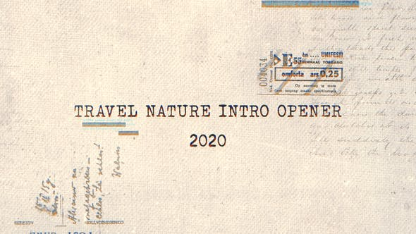 Thumbnail for Travel Nature Intro Opener