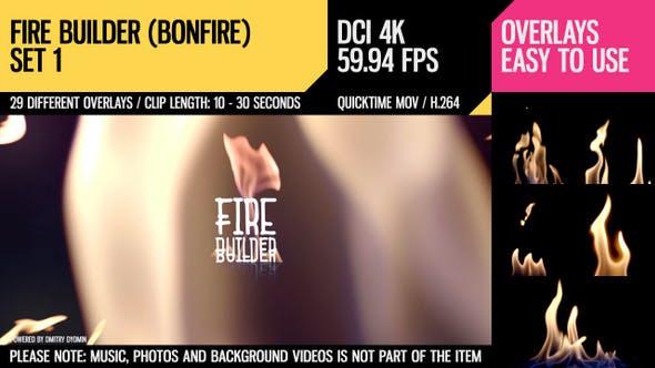 Thumbnail for Fire Builder (Bonfire 4K Set 1)