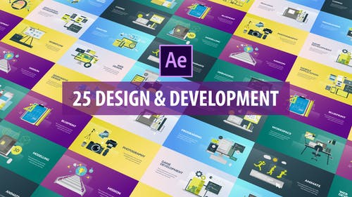 Design and Development Animation | After Effects