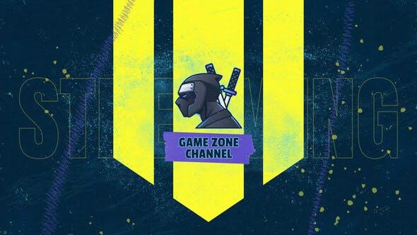 Thumbnail for Grunge Gaming Logo Transition