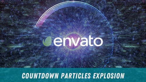 Countdown Particles Explosion