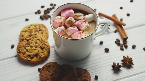 Cup of Cacao with Marshmallows