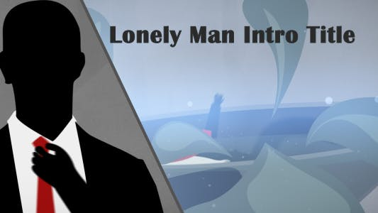 Lonely Man Intro Title