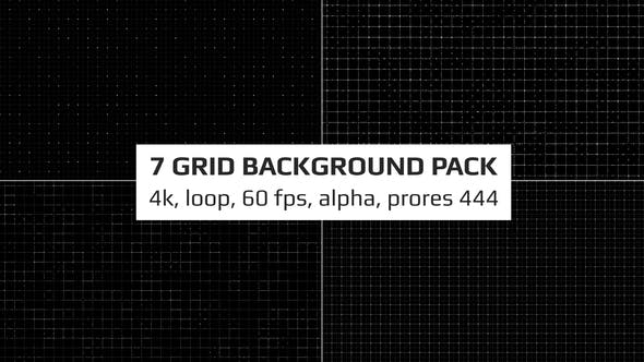 Thumbnail for Grid Background Pack