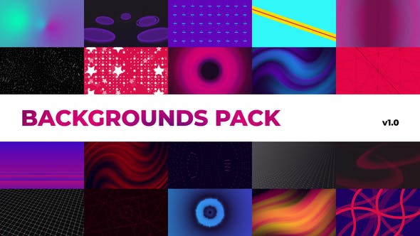 Thumbnail for Ambient Backgrounds Pack | Premiere Pro