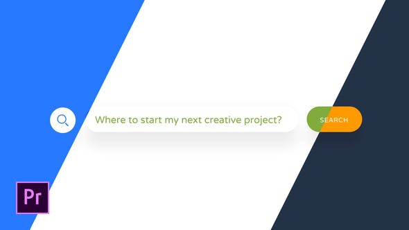Thumbnail for Recherche Internet Logo Reveal | Pour Premiere Pro