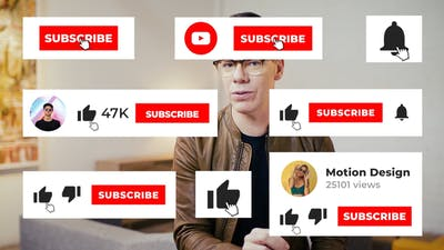 YouTube Subscribe FCPX