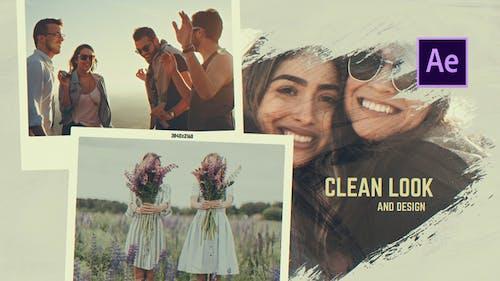 Friends Story - Brush Memories Slideshow